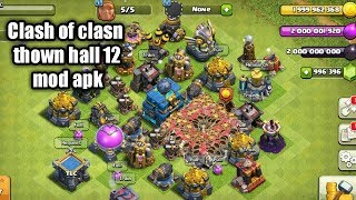 How to hack clash of clans Apk Town hall 12 (july update )