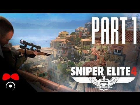 SIMULÁTOR SBÍRÁNÍ SKALPŮ! | Sniper Elite 4 #1