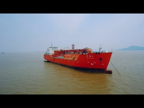 China launches first independently developed liquefied natural gas ship