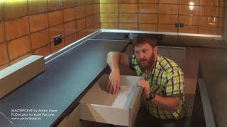 Кухня в стиле ХАЙ-ТЕК. Обзорное видео.