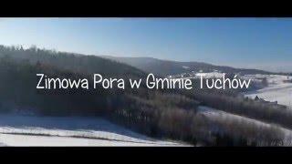 Zimowa pora w gminie Tuchów