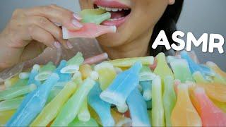 ASMR Nik-L-Nip Wax CANDY Bottles *No Talking Eating Sounds | N.E ASMR