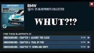 NEED FOR SPEED NO LIMITS - LIMITED TIMES SERIES CARS BLUEPRINTS REPLAY (LTS) (BMW M4 F82 RAZOR)!!!