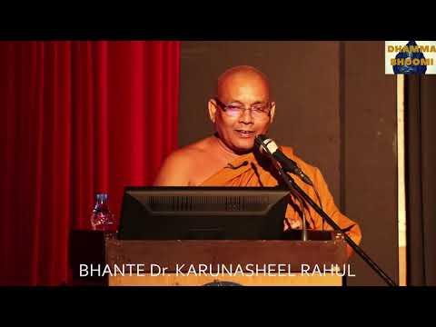 Bhante Dr. Karunasheel Rahul @ JNU