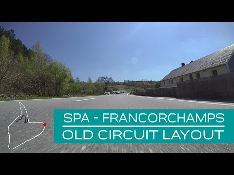 Spa Francorchamps old F1 circuit layout onboard (Lucien Bianchi) (Eng Subs)