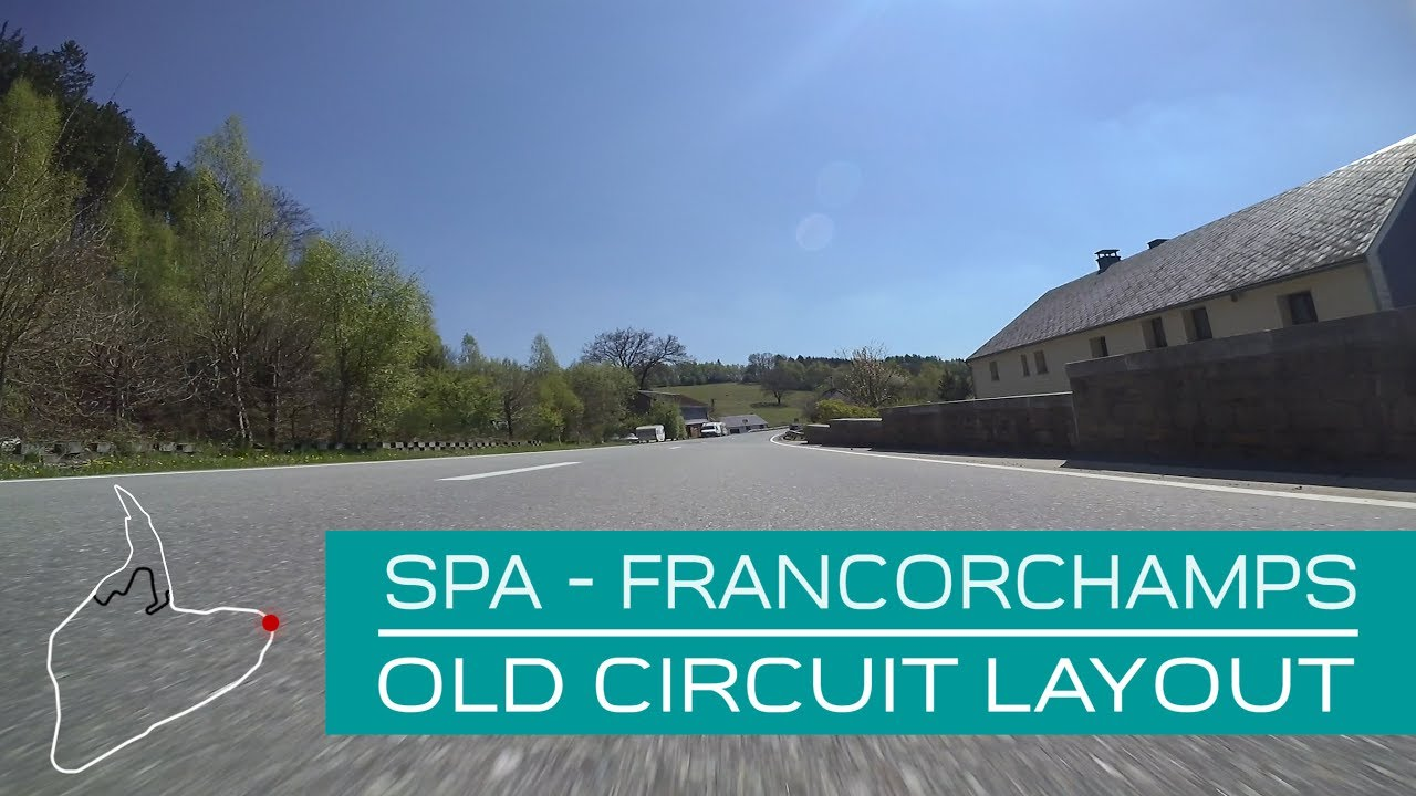 Spa Francorchamps Old F1 Circuit Layout Onboard Lucien Bianchi