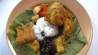Jakarta Street Food 381 Cirebon Jamblang Rice Mrs Rubiah Nasi Jamblang Khas Cirebon BR TiVi2180