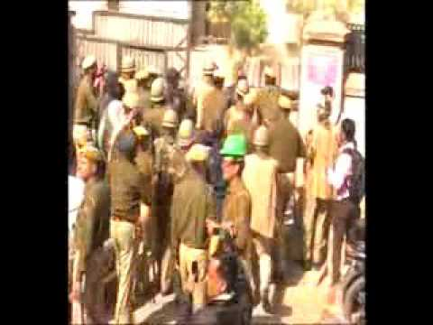 sfi attacked by police in sikar