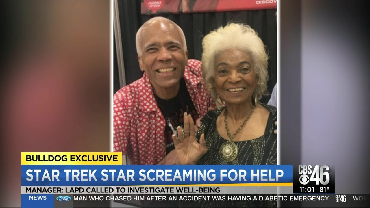 Star Trek icon heard screaming in guardianship battle