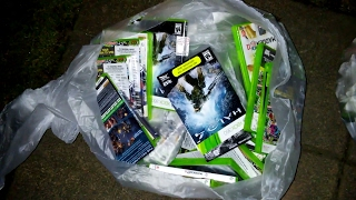 Gamestop Dumpster Dive Night #163