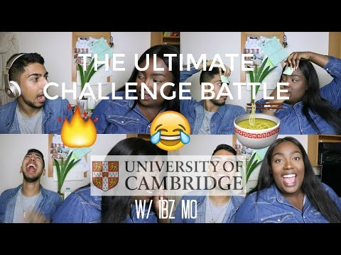 THE ULTIMATE CHALLENGE BATTLE w/ IBZ MO | SPICY RAMEN NOODLES, WHISPER CHALLENGE & MORE