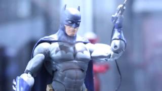 Batman V Superman Dawn Of Justice & DC Collectibles New York Comic-Con 2015 Display