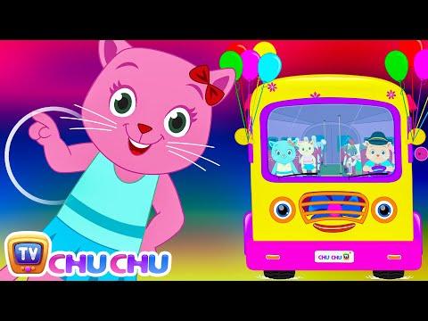 Wheels On The Bus (SINGLE)   Nursery Rhymes by Cutians   ChuChu TV Kids Songs
