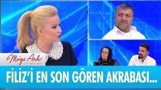 Filiz'i en son gören akrabası canlı yayında - Müge Anlı ile Tatlı Sert 29 Ocak 2019