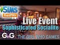 The Sims Freeplay- Sophisticated Socialite Live Event [& PRIZES]