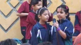 اذاعة اللغة العربية في مدارس طيبه يوم 7 11 2012
