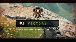 BLACK OPS 4 BLACKOUT DUOS - My First Win!!!