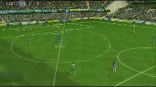 Fifa Soccer 10 Gameplay Video for PSP