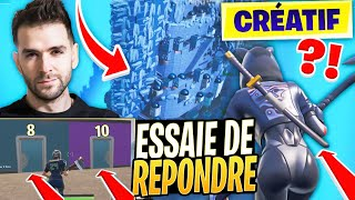 MAP QUIZ FORTNITE: TRYING to ANSWER ON THE SONSCE OF THE ANNEAUX? Creatif Season 9
