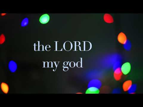Psalm 18:28 - You light a lamp for me. The LORD, my God, lights up my darkness. (NLT)