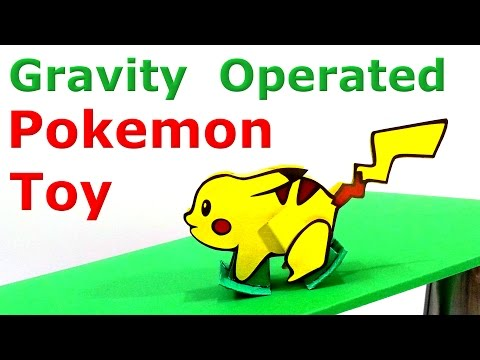 How to make Gravity Operated Pokemon Toy