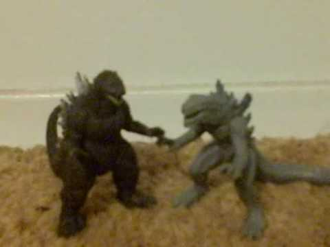 Godzilla And Zilla Mini Vinal Figure Pack Review Youtube