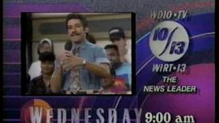 1991 Geraldo And WWF Superstars of Wrestling Local Promos