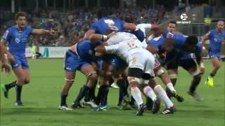 2017 Super Rugby Round 9: Force v Chiefs