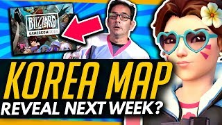 Overwatch | New KOREA MAP Next Week? - Gamescom, Fan Festival and Jeff Kaplan tease Korea content!