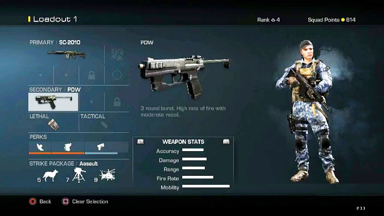 Call Of Duty Ghost Guns And Perks Pictures to Pin on ...