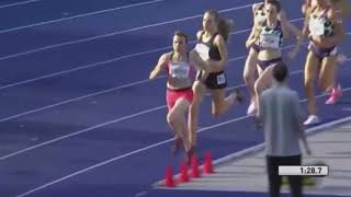 """""""jessica hull achieved last night in berlin, what has seemed destine for the 12 months, when she broke australian 1500m record. with a large field o..."""