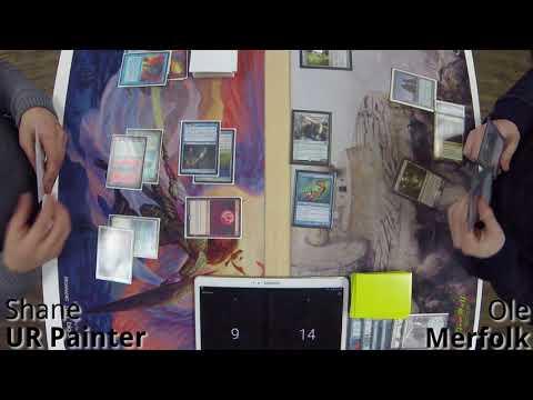 Legacy K MTG - UR Painter vs Merfolk 1.29.2018
