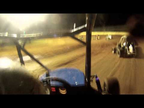 I-44 Riverside Speedway Non Wing A Feature 8-25-2013