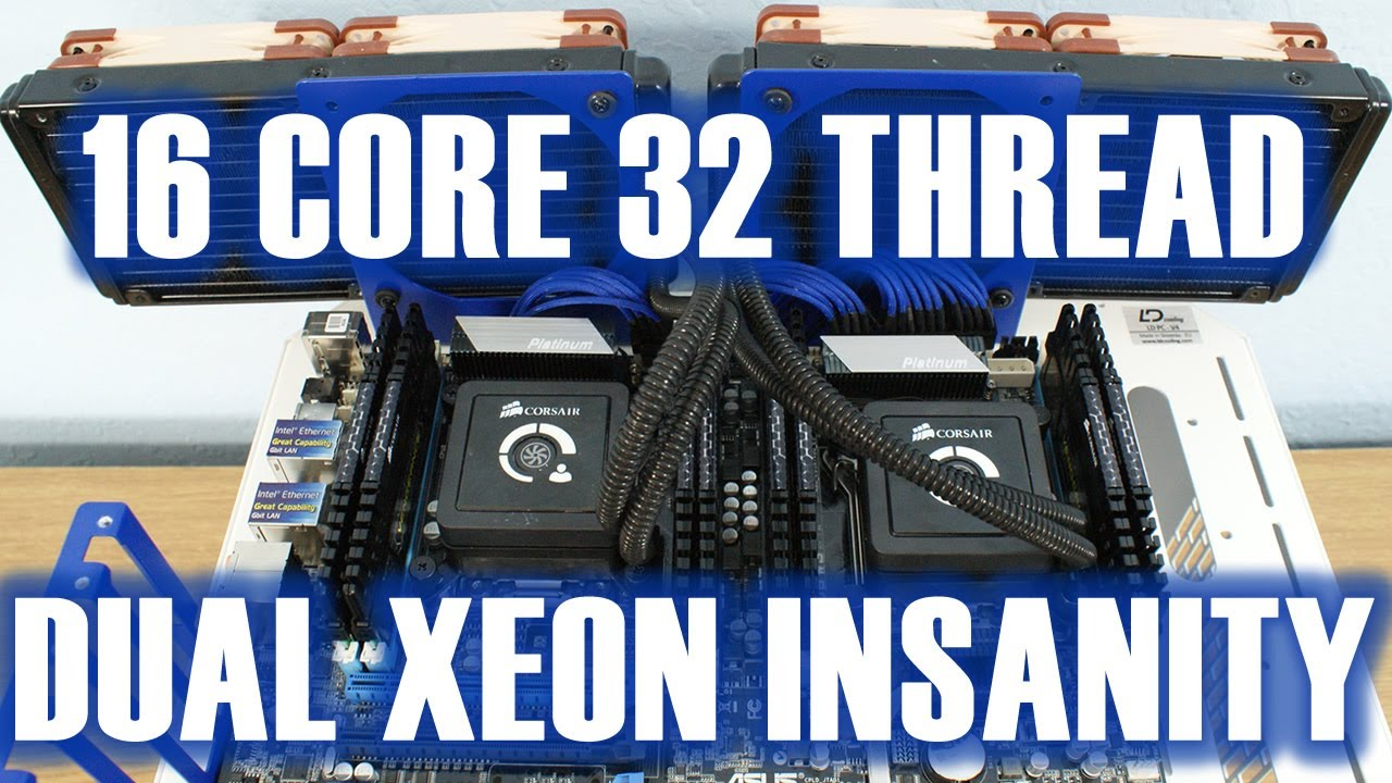 Asus Z9PE-WS Dual Xeons E5-2687 Insanity 16 Cores 32 Threads Review