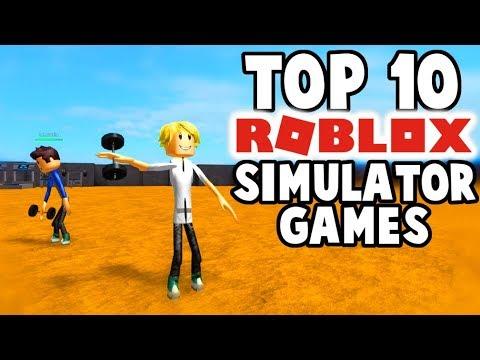 Good Simulator Games In Roblox Top 10 Roblox Simulator Games Youtube