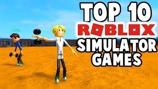 Top 10 Roblox Simulator Games!