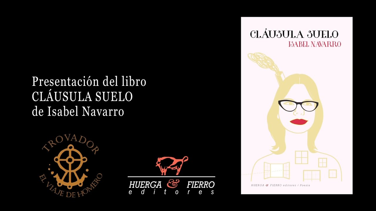 Cl usula suelo presentaci n de libro youtube for Clausula suelo 0
