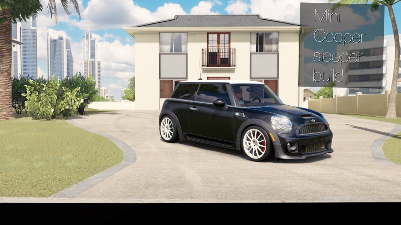 Forza Horizon 3 Mini Cooper Sleeper Build