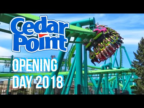 Cedar Point Opening Day 2018
