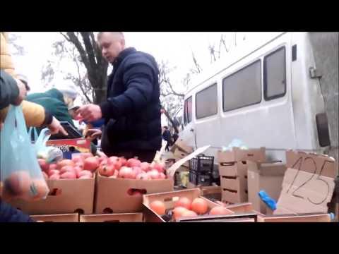 Продажа санкционных продуктов на рынке в г. Клинцы, Брянская область