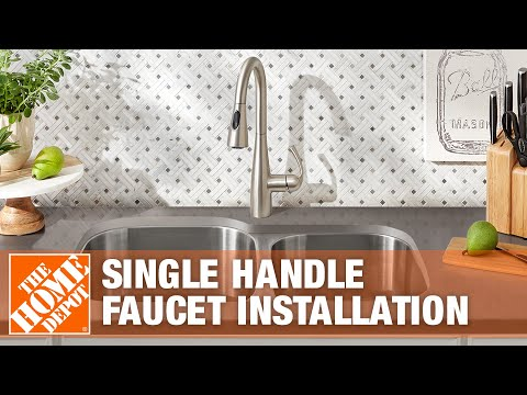 How to Replace a Kitchen Faucet With a Single Handle | The Home Depot