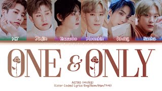 ASTRO (아스트로) - ONE & ONLY (Color Coded Lyrics Eng/Rom/Han/가사)
