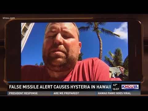 False missile alert causes hysteria in Hawaii