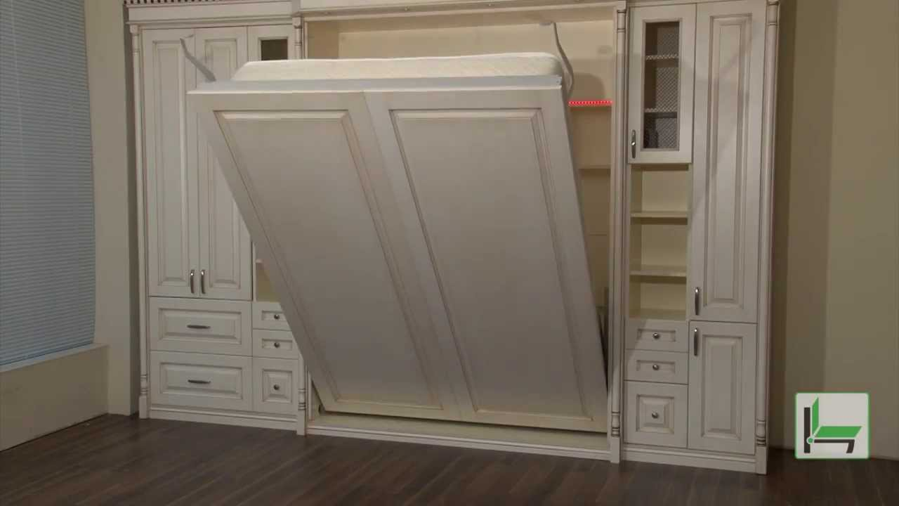 Homfort Electric Wall Bed  YouTube