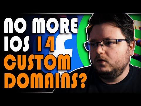 Facebook Ads IOS 14 For Music \\ No More Custom Domains?