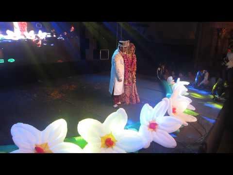 JAI MALA  ( FLOWER CONCEPT ) IN GLASS PALACE