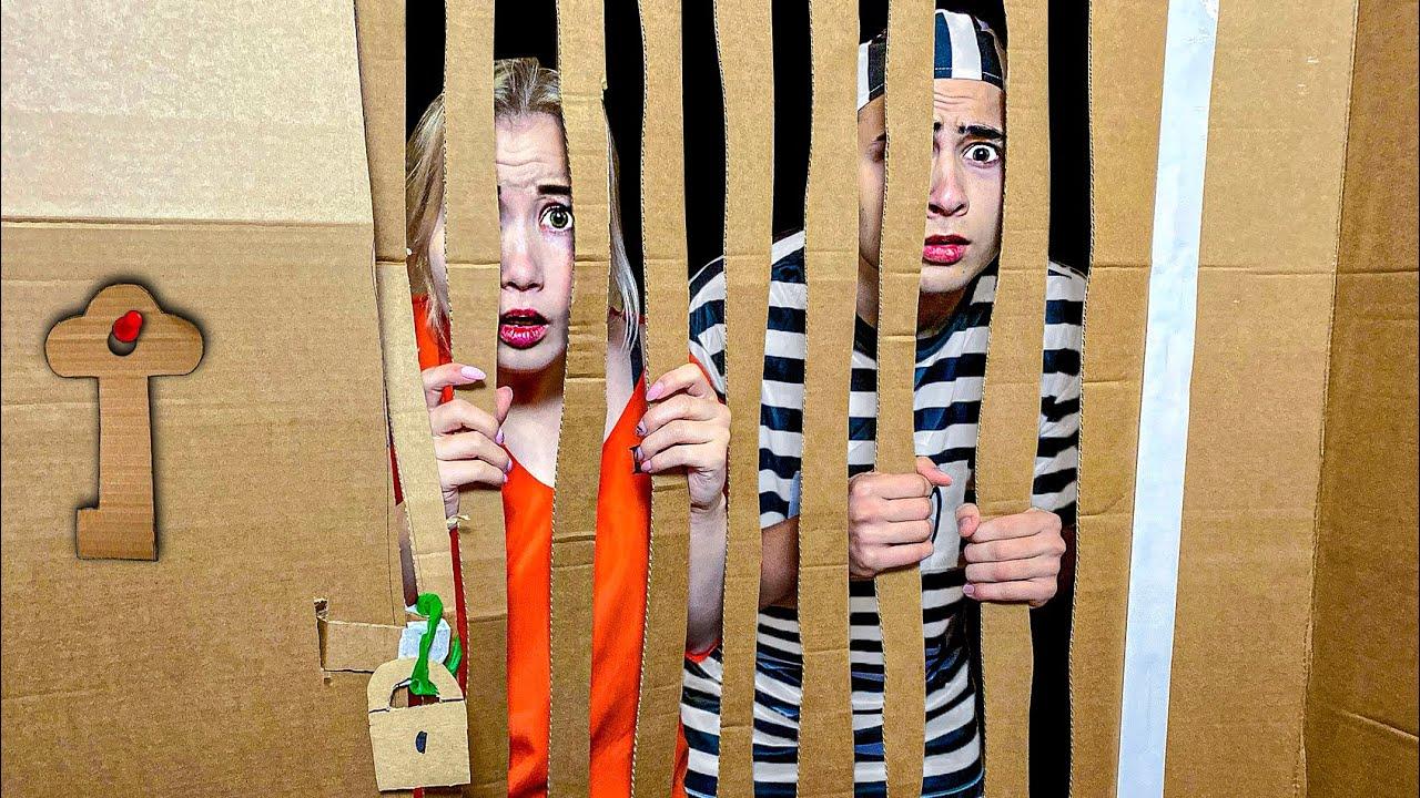 Побег из Картонной Тюрьмы Челлендж
