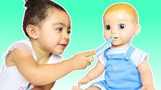 This is The Way We Brush Our Teeth Nursery Rhymes Song for Kids from Leah