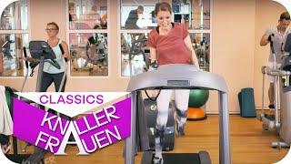 Laufband-Workout mit Martina