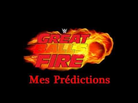 WWE Great Balls Of Fire 2017: Mes Prédictions
